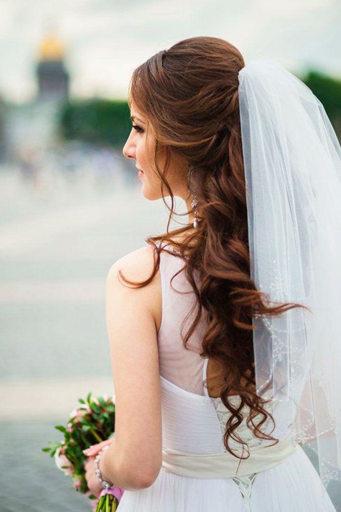 25 Best Ideas About Wedding Hairstyles Veil On Pinterest Flower