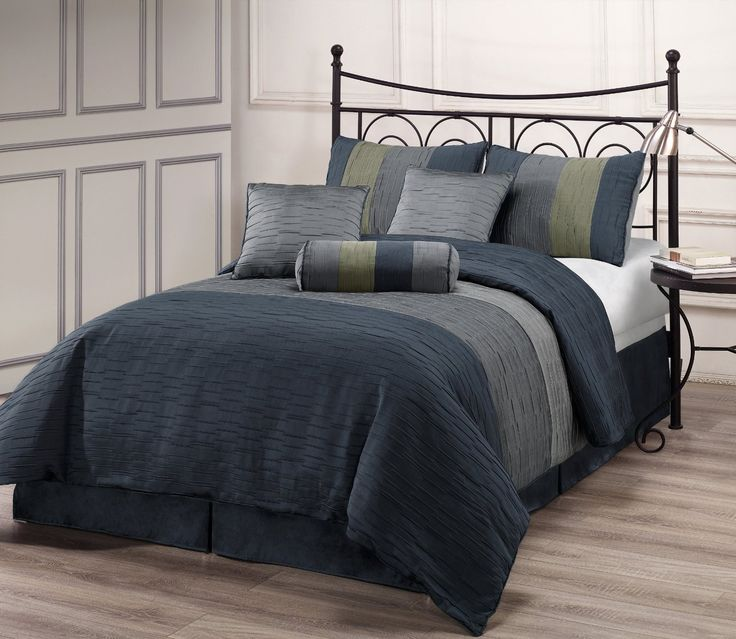 AmazonSmile  ZADOOTH Queen Size 7 Piece Comforter Set