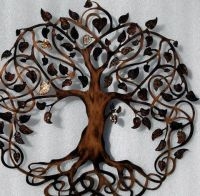 Large Hanging Celtic Wall Art Vintage Work Autumn Jewel ...