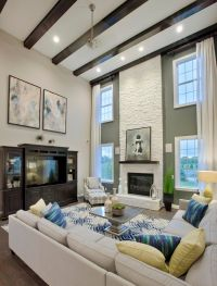 25+ best ideas about Vaulted living rooms on Pinterest