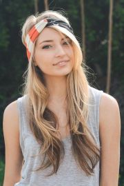ideas headband hairstyles