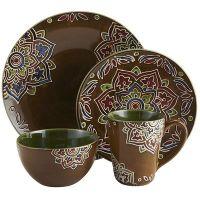 Medallion Dinnerware-Artisan created stoneware that will ...