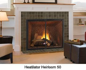 Heatilator Heirloom 50 gas fireplace  Classic  Comfy  Pinterest  Gas fireplaces and Fireplaces