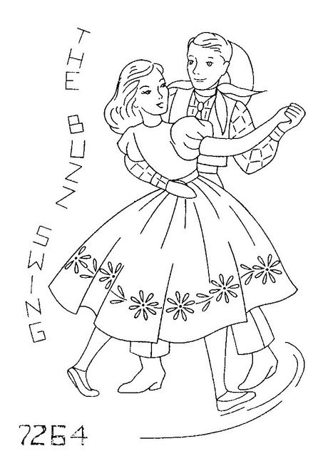 18 best images about Square Dance Embroidery on Pinterest