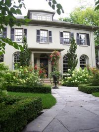 Landscaping around front entrance: Curb appeal ;)   Decor ...