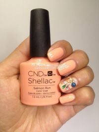 best shellac colors for summer 25 best ideas about cnd ...