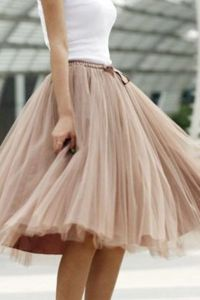 tulle ballerina inspired skirt | neutral | Pinterest ...