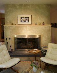 stucco finish around fireplace | Fireplace Ideas ...