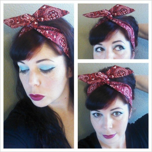 30 1950s And 1960s Hairstyles Bandanas Hairstyles Ideas Walk