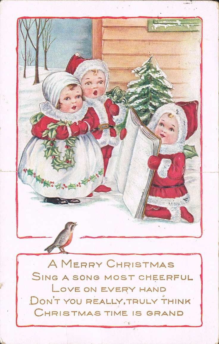 341 Best Vintage Christmas Postcardscardsadvert Images
