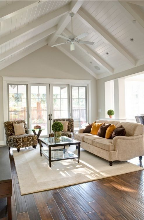 Love The Pitched Roof Living Room Pinterest Paint Colors French Doors And Nice