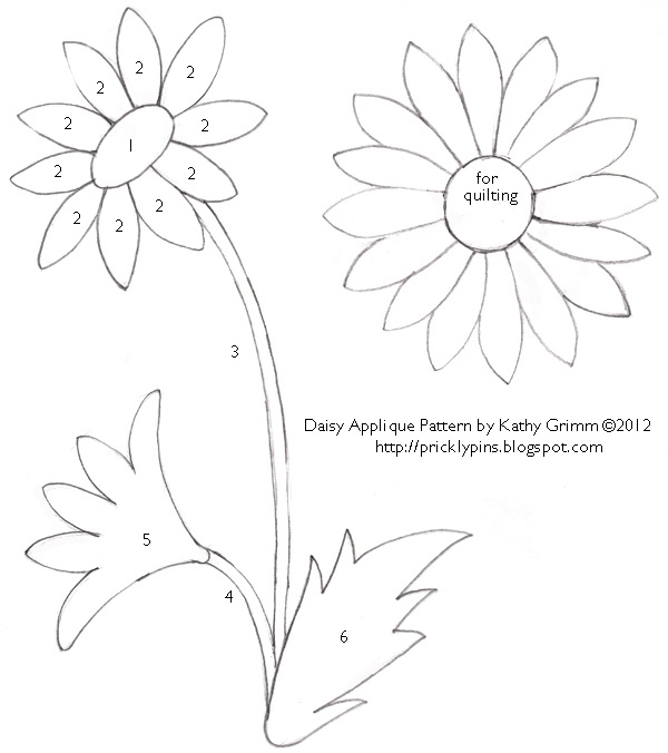 1000+ ideas about Flower Applique Patterns on Pinterest