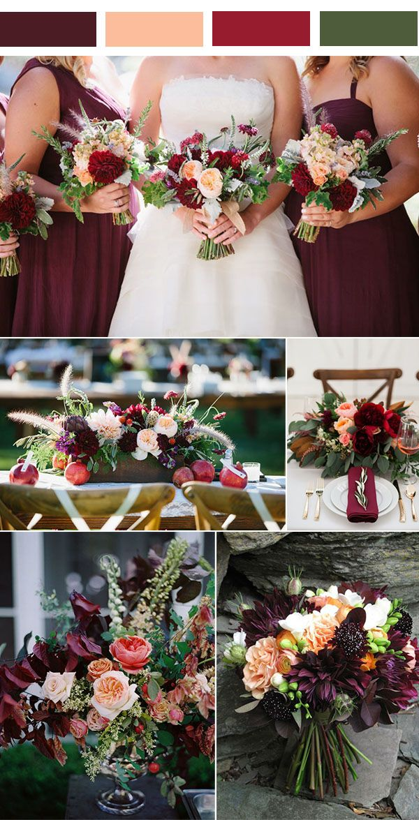 25 best ideas about Wedding color combinations on Pinterest  Fall wedding colors Wedding