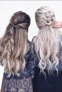 17 Best ideas about Casual Braided Hairstyles on Pinterest