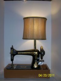 17 Best images about Sewing machine lamps on Pinterest ...
