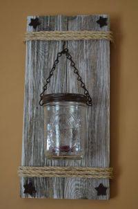25+ best ideas about Mason jar sconce on Pinterest | Mason ...