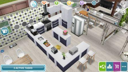 sims freeplay kitchen houses casa play level idea floor salvo uploaded user