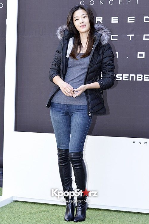 Jun Ji Hyun Rocks Winter Outfit STYLE Pinterest Long