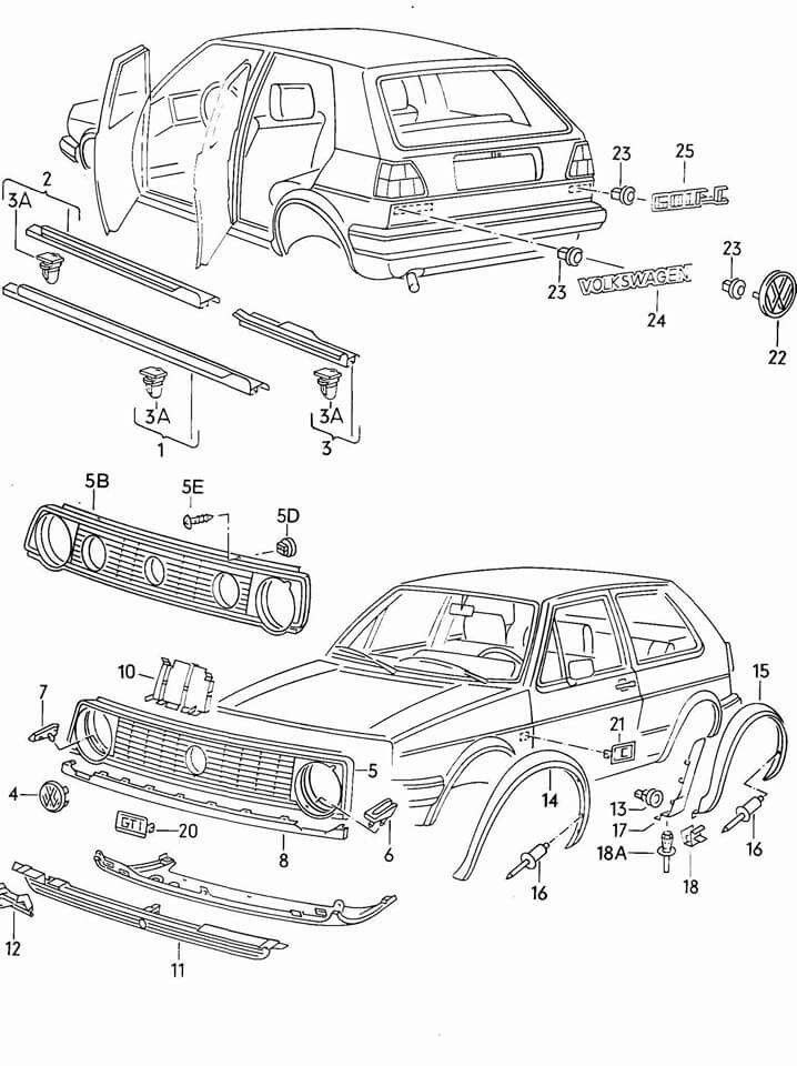17 Best images about VW Golf MK II on Pinterest