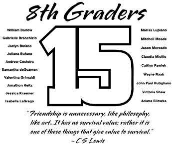 1000+ images about 8th Grade Graduation T-Shirts on