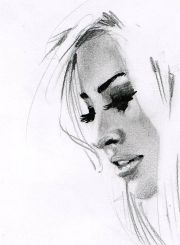 beautiful girl drawing #art #drawing