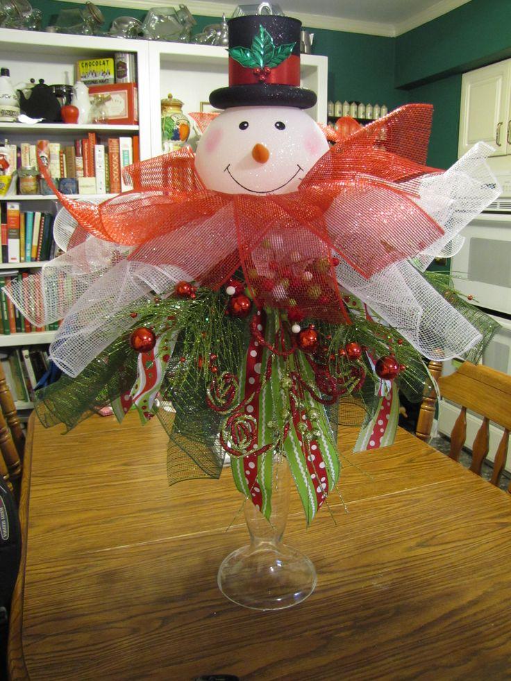 259 best images about Christmas Centerpiece Ideas on Pinterest  Christmas arrangements