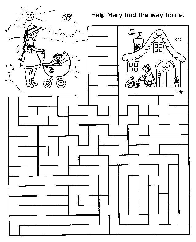 Free Printable Mazes for Kids at AllKidsNetwork.com there