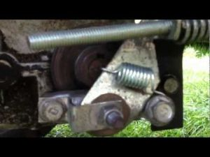 Craftsman Lawn Tractor Brake Assembly and Adjustment  YouTube | Craftsman Riding Lawn Mower
