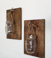 1000+ ideas about Mason Jar Sconce on Pinterest | Mason ...