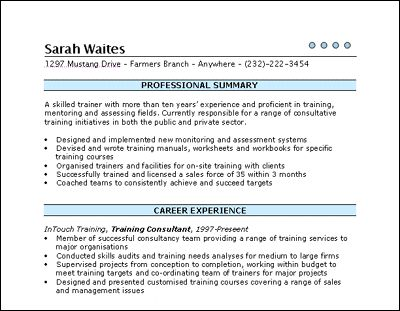 21 Best Basic Resumes Images On Pinterest