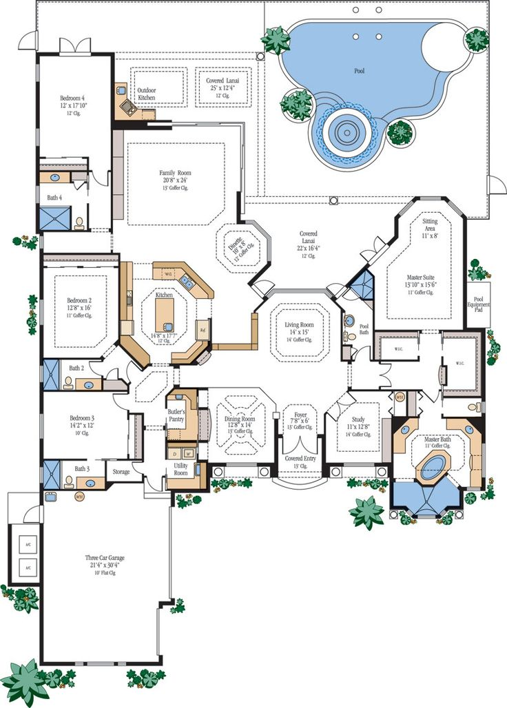 25 Best Ideas About Luxury Home Plans On Pinterest Dream Home