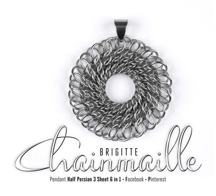 1000+ images about Chainmaille-necklaces/pendants on