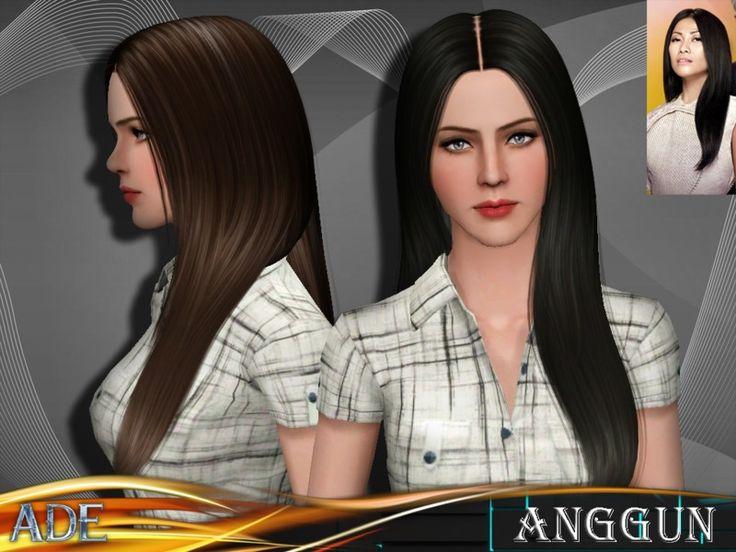 Die 680 Besten Bilder Zu Sims 3 Downloads Hair Auf Pinterest