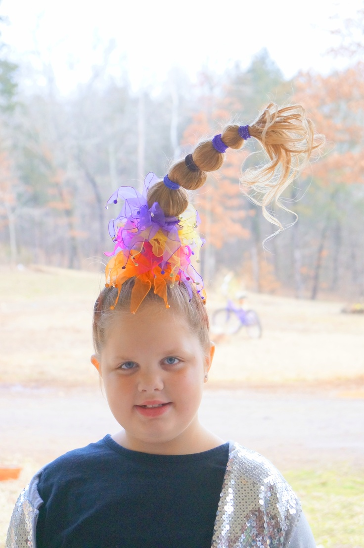 Molly 2013Crazy Hair Day School Dr Seuss Week