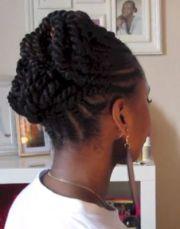 natural hair updos black women