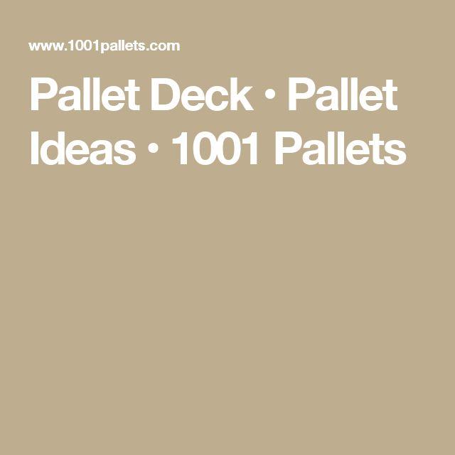 25 Best Ideas About 1001 Pallets On Pinterest Wood