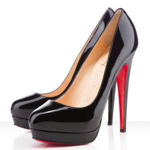Louboutin #Shoes Christian Louboutin Bianca 140mm Platforms Black CAB