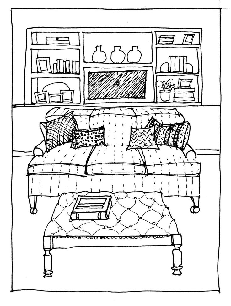 1000+ images about Furniture Drawing in Perspective on