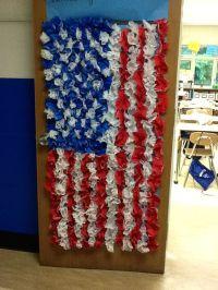 Patriotic door decorating | it's elementary... | Pinterest ...