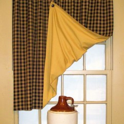 Kitchen Swag Curtains Cabinet Design App 1000+ Images About Primitive Window Treatments On Pinterest
