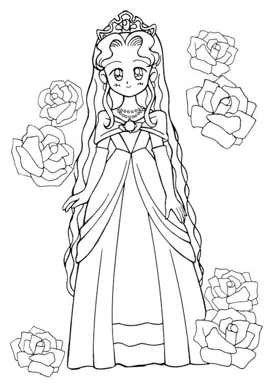 17+ best images about fairy tale coloring pages on