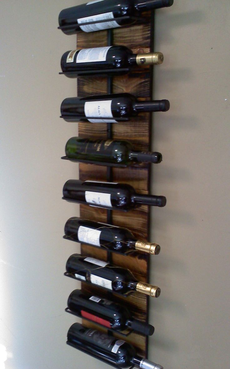25+ best ideas about Wine Rack Wall on Pinterest
