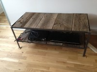 Welded angle iron coffee table | Projects | Pinterest ...
