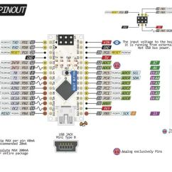 Electronics Mini Projects With Circuit Diagram 3 Position Rotary Switch Wiring Arduino – Nano Pinout | Datasheets / Pins Connections Circuits Pinterest