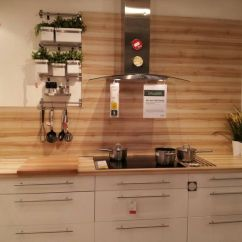 Concrete Kitchen Floor Sinks For Kitchens Beautiful Wood Grain Splashback. Worktop Used As ...