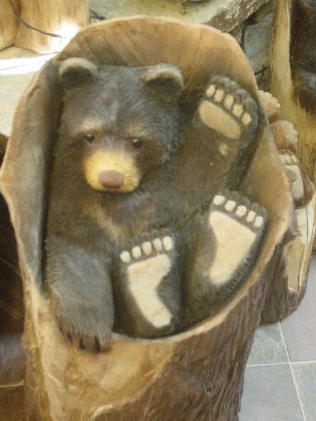 24 best images about Chainsaw CarvingFavorite Bear ideas