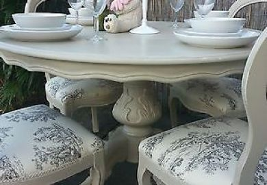 White Round Dining Table Set Sears