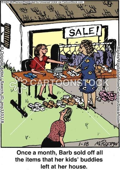 Funny Garage Sale  sale cartoons yard sale cartoon funny yard sale picture yard sale