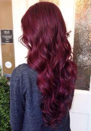 ideas wine hair
