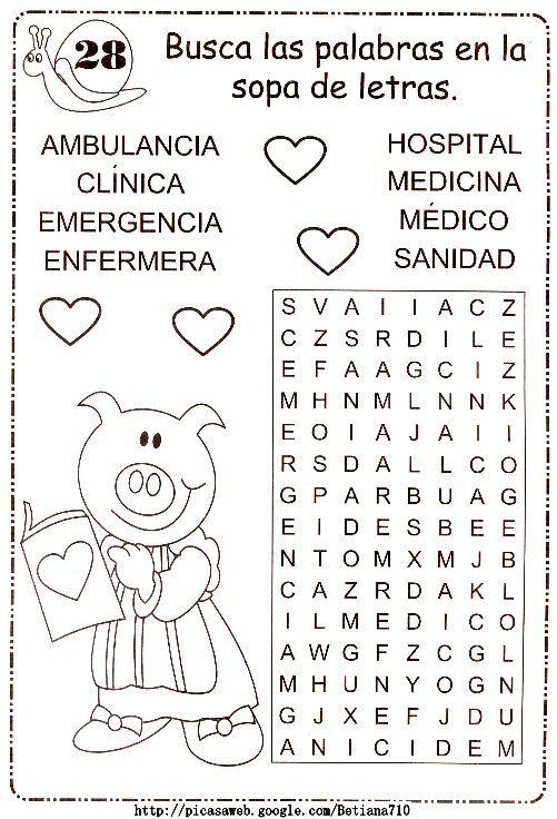52 best images about Sopa de letras-crucigramas